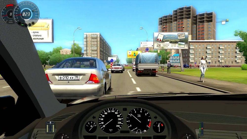 Симулятор для обучения вождению 3D Инструктор