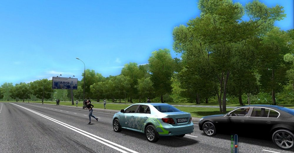 Симулятор для обучения вождению ПДД Симулятор вождения автомобиля