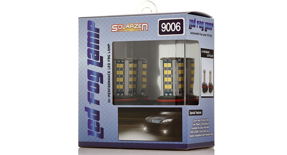 Светодиодные лампы для авто Solarzen HB4 38S35