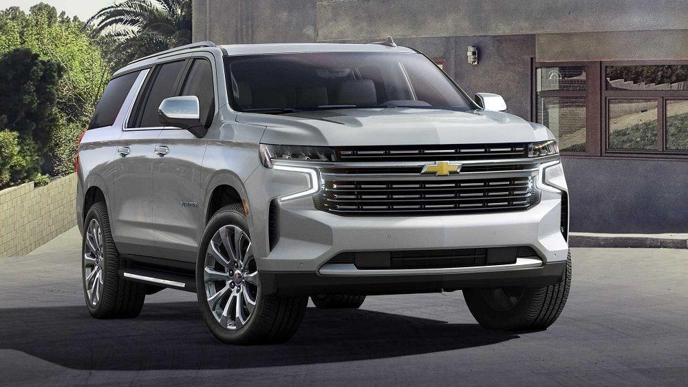 Внедорожник для России Chevrolet Tahoe