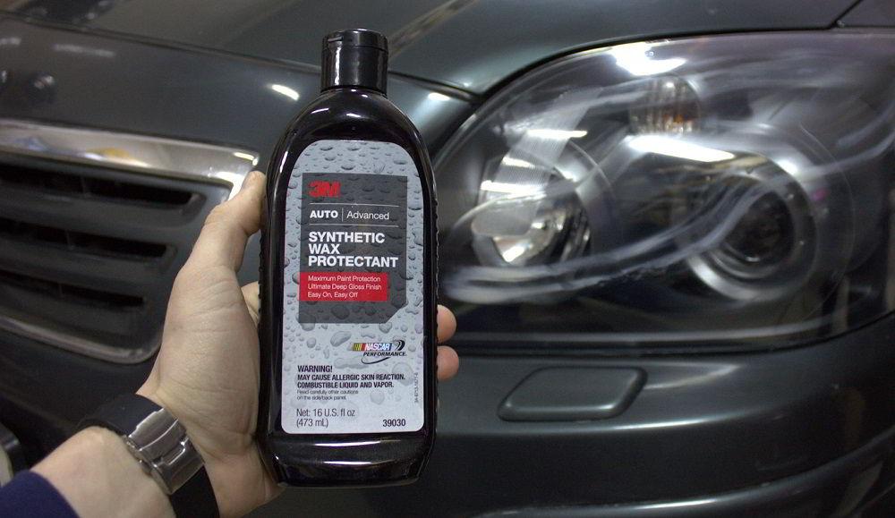 Воск для автомобиля 3M Synthetic Wax Protectant