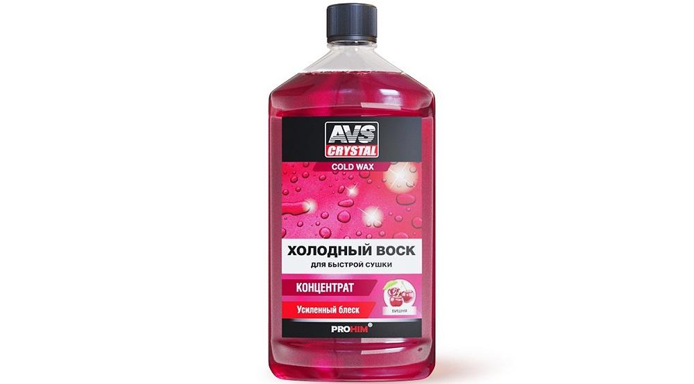 Воск для автомобиля AVS Crystal Cold Wax