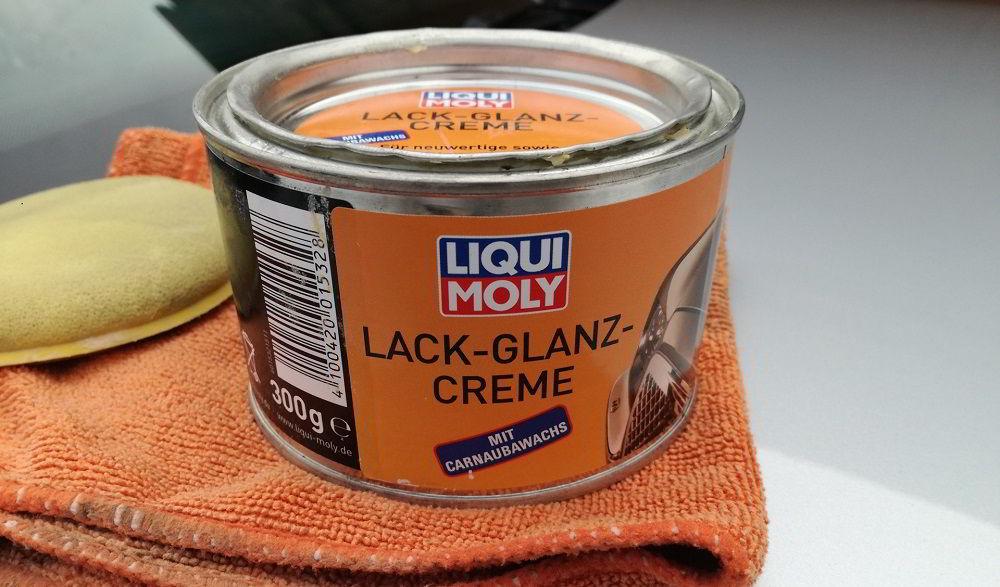 Воск для автомобиля Liqui Moly Lack Glanz Creme