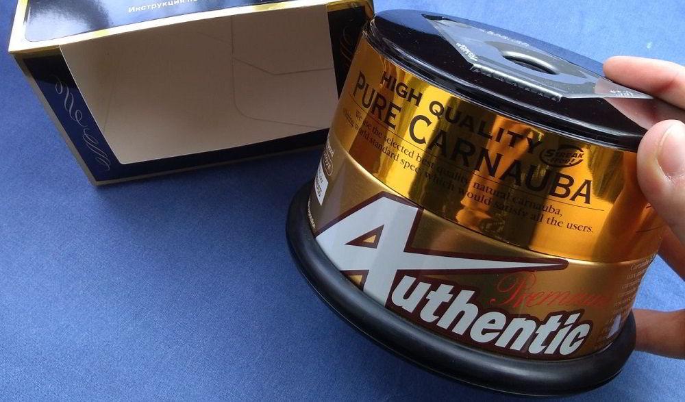 Воск для автомобиля Soft99 Authentic Premium