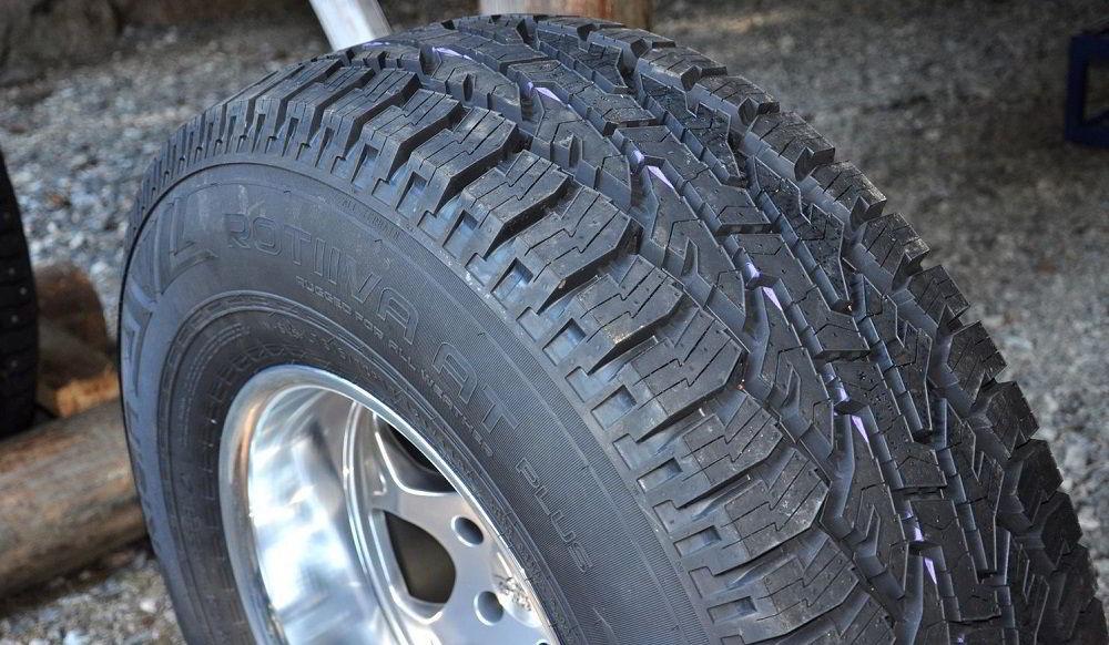 Всесезонные шины Nokian Tyres Rotiiva A/T Plus