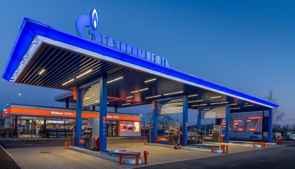 Заправка в России Газпромнефть
