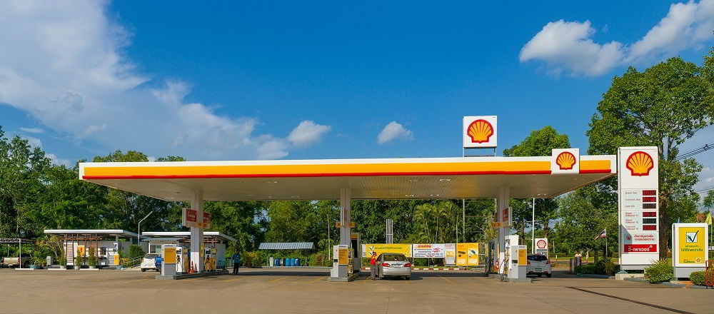Заправка в Украине Shell