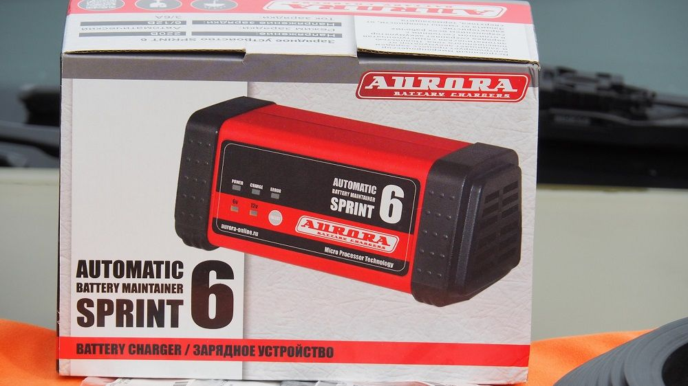 Зарядное устройство для аккумулятора Aurora SPRINT 6