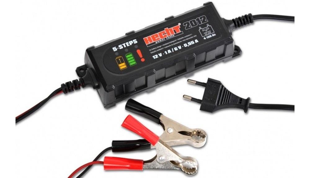 Зарядное устройство для аккумулятора Hecht 2012