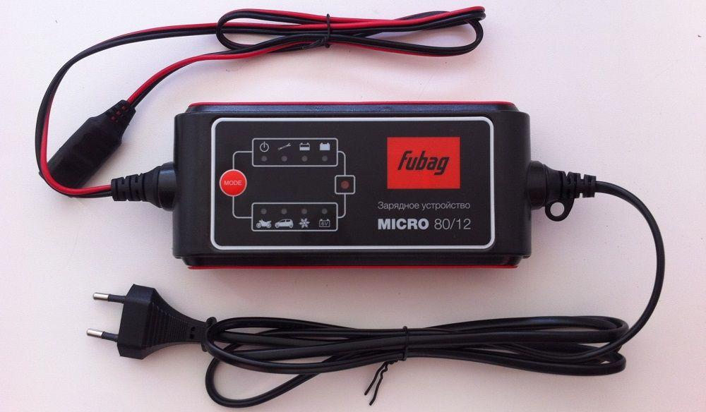 Зарядное устройство для аккумулятора Fubag Micro 80/12