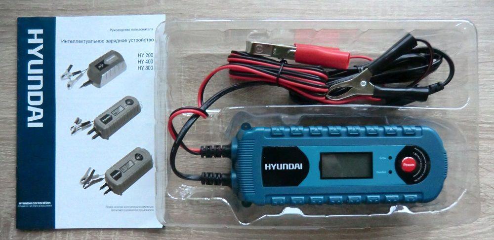 Зарядное устройство для аккумулятора Hyundai HY400
