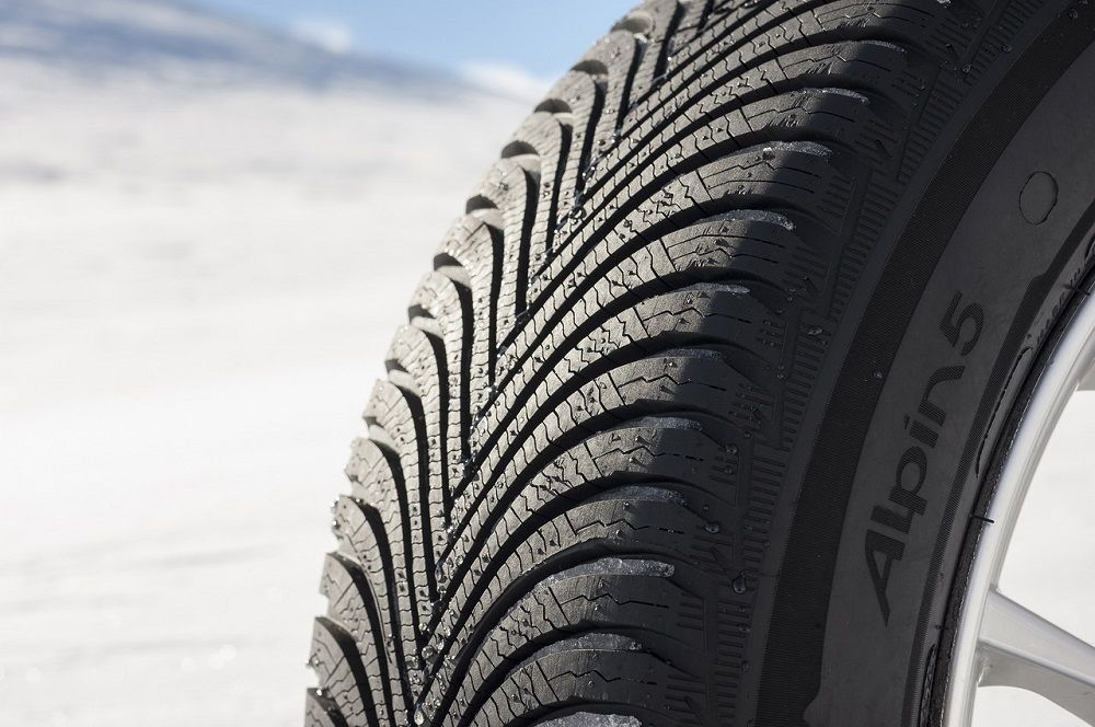 Зимние шины для легковых авто Michelin Alpin 5