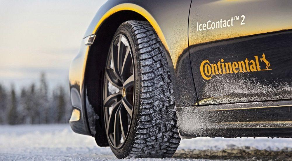 Зимние шипованные шины Continental Ice Contact 2