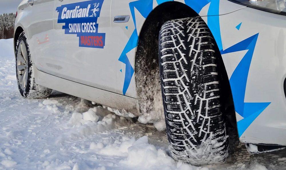Зимние шипованные шины Codriant Snow Cross