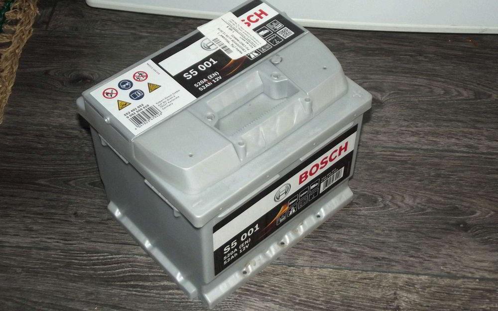 Аккумулятор для зимы Bosch S5 001