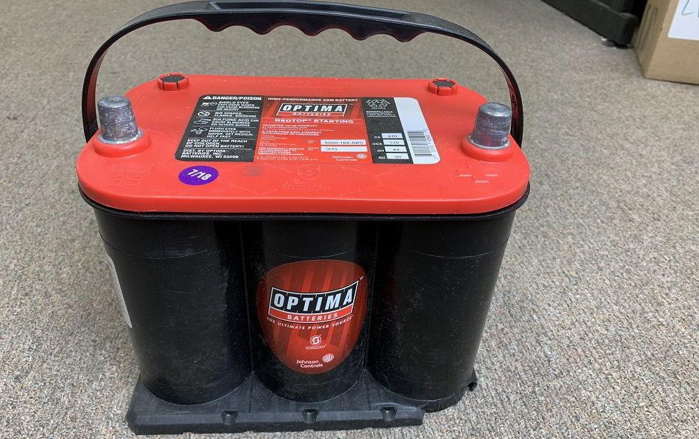 Аккумулятор для зимы Optima Red Top
