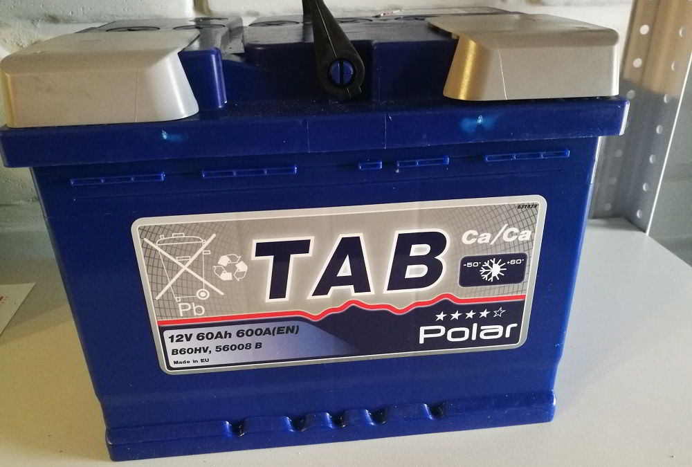 Аккумулятор для зимы TAB Polar 5200