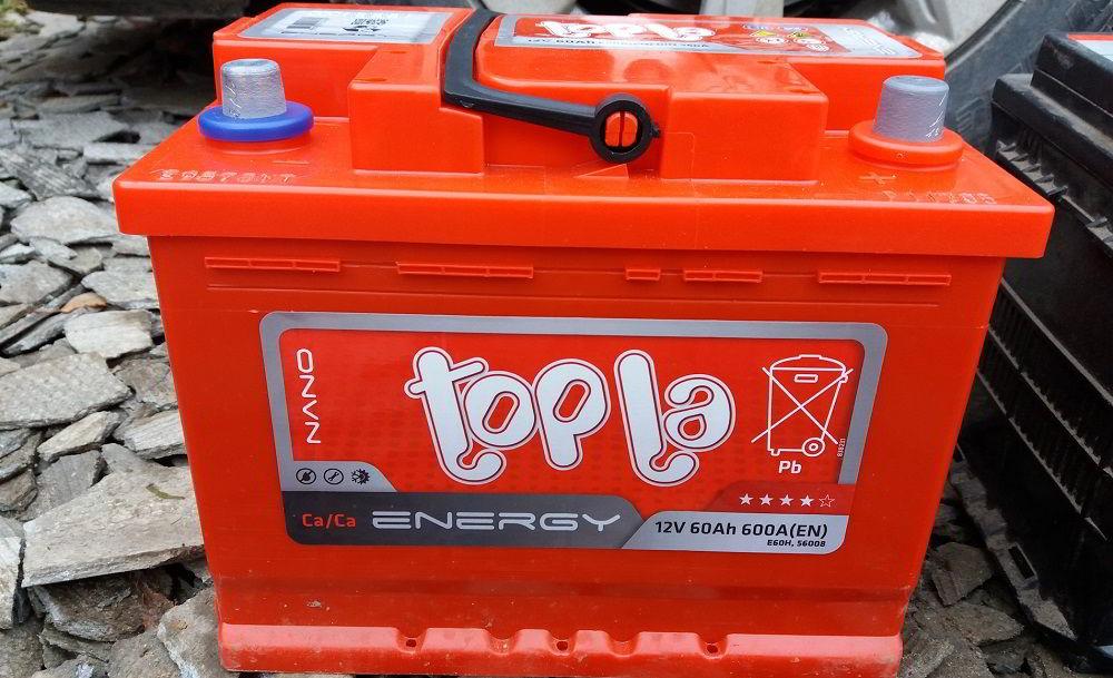 Аккумулятор для зимы Topla Energy 60