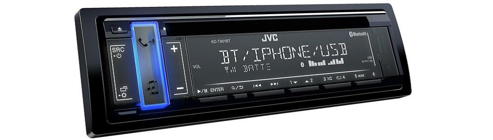 Автомобильная магнитола JVC KD-T801BT