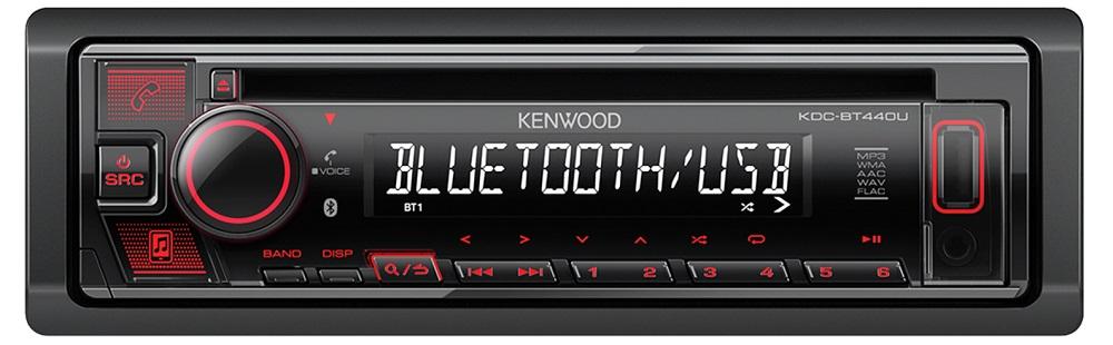 Автомобильная магнитола Kenwood KDC-BT440U