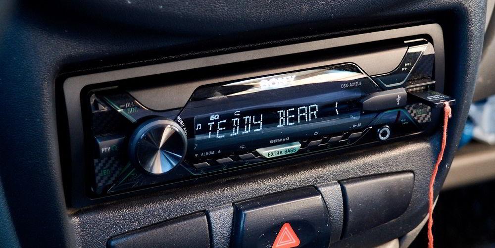 Автомобильная магнитола Sony DSX-A212UI