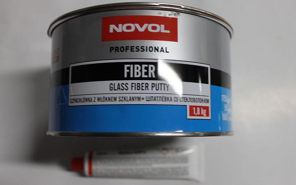 Автомобильная шпаклёвка Novol Fiber