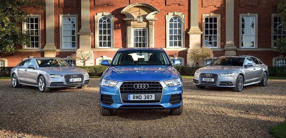 Дорогие в обслуживании автомобили Audi