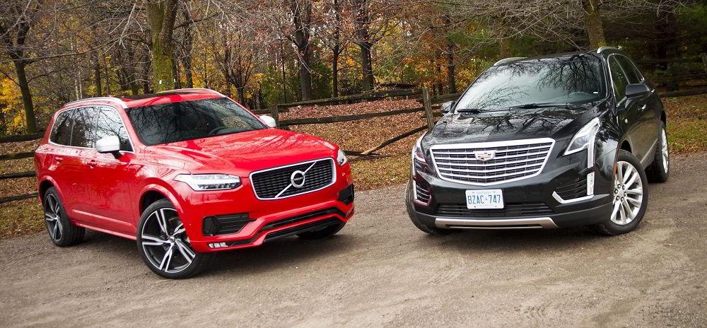 Дорогие в обслуживании автомобили Cadillac и Volvo