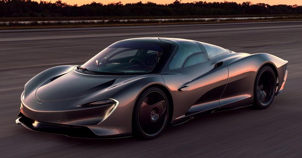 Крутой автомобиль McLaren Speedtail