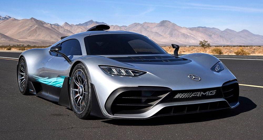 Крутой автомобиль Mercedes-AMG Project One