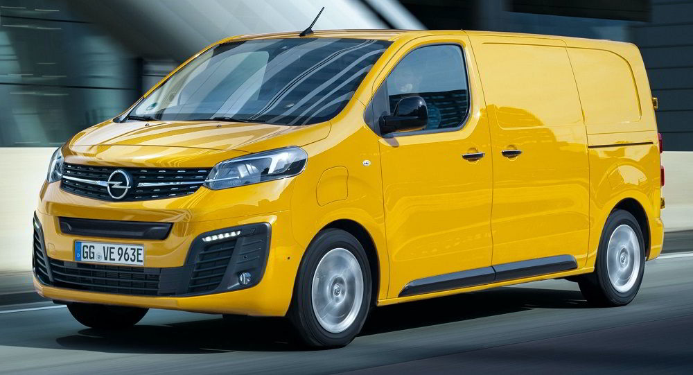 Лучший микроавтобус Opel Vivaro