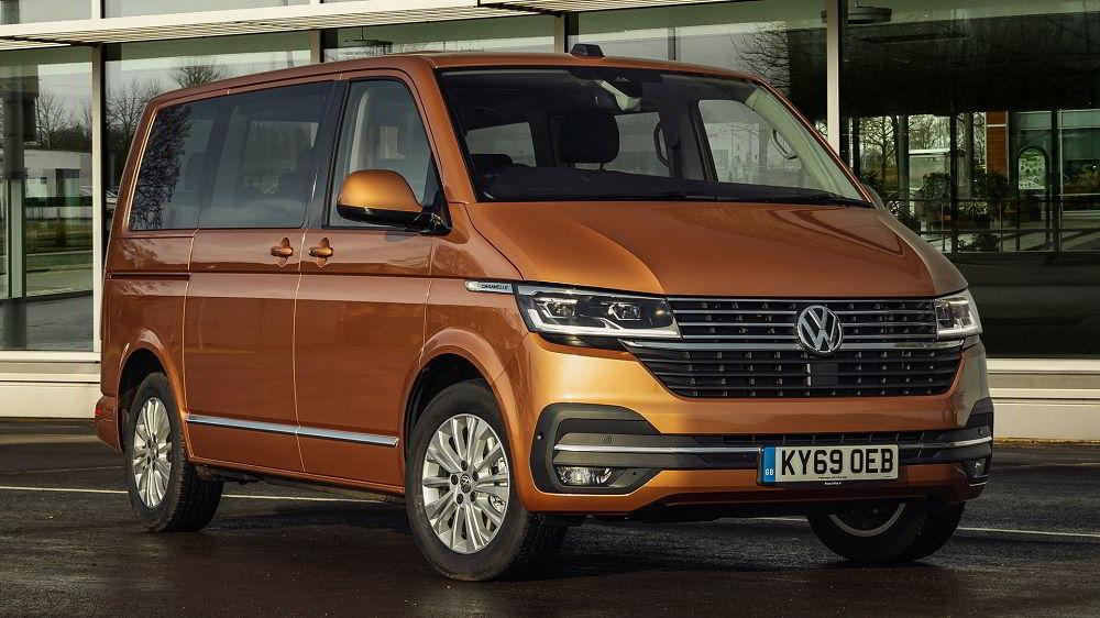 Лучший микроавтобус Volkswagen Caravelle 2