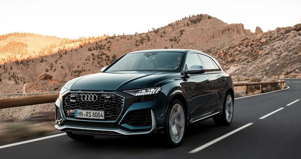 Лучший по управляемости автомобиль Audi Q8