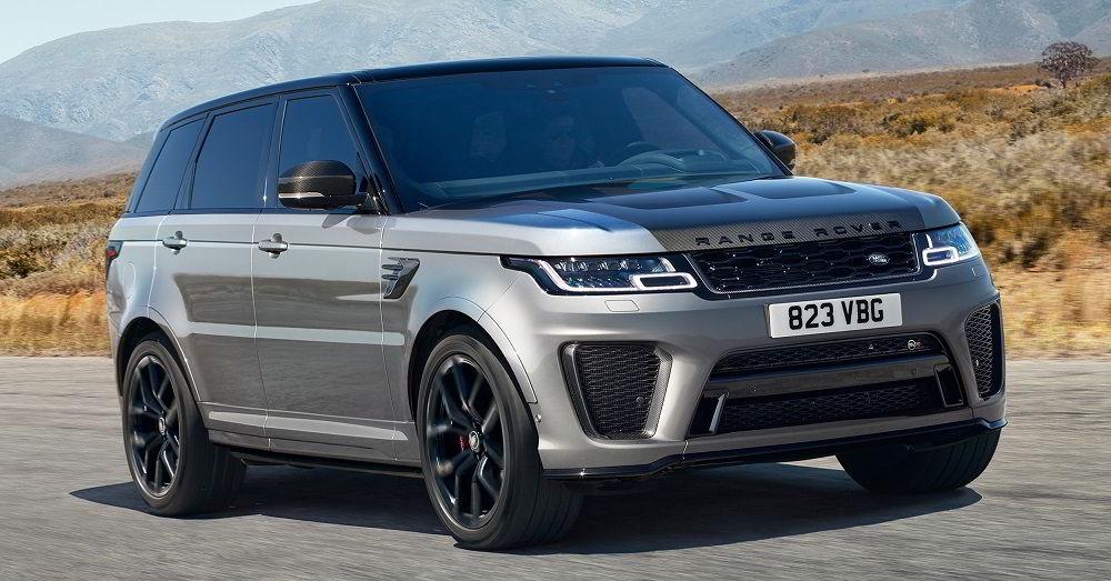 Лучший по управляемости автомобиль Range Rover Sport