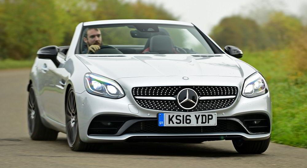 Надёжный автомобиль с пробегом Mercedes SLC 2016