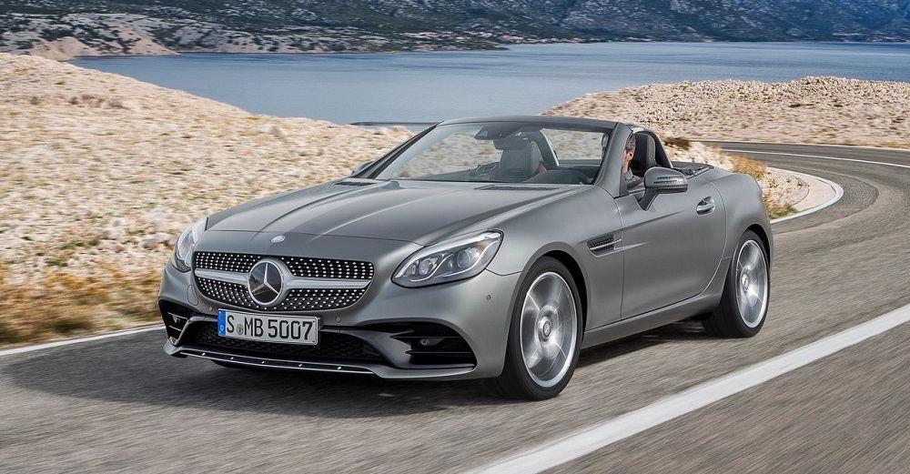 Надёжный автомобиль с пробегом Mercedes SLC