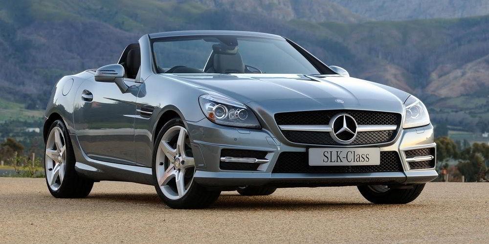Надёжный автомобиль с пробегом Mercedes SLK 2012