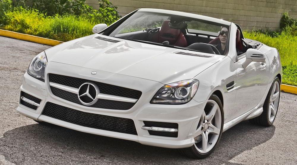 Надёжный автомобиль с пробегом Mercedes SLK 2014