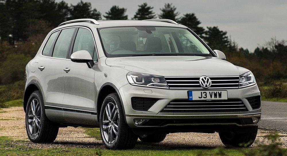 Надёжный автомобиль с пробегом Volkswagen Touareg 2014