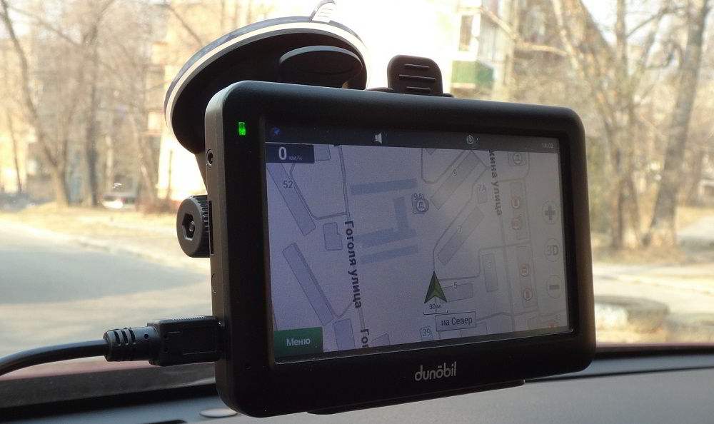 Навигатор с услугой «пробки» Dunobil Modern 4.3