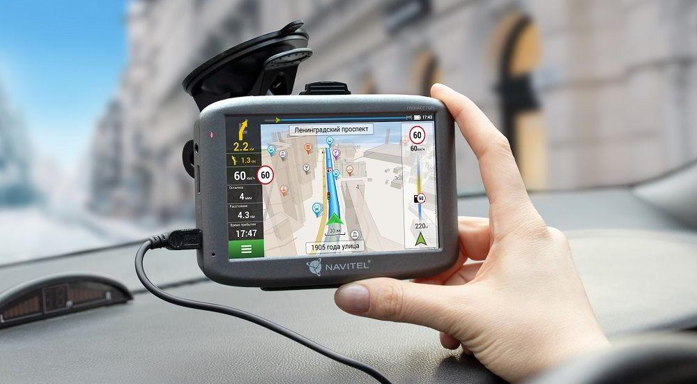 Навигатор с услугой «пробки» NAVITEL G500
