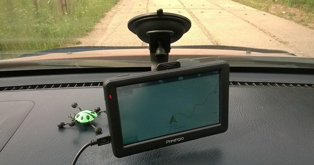 Навигатор с услугой «пробки» Prestigio GeoVision 5059 Progorod