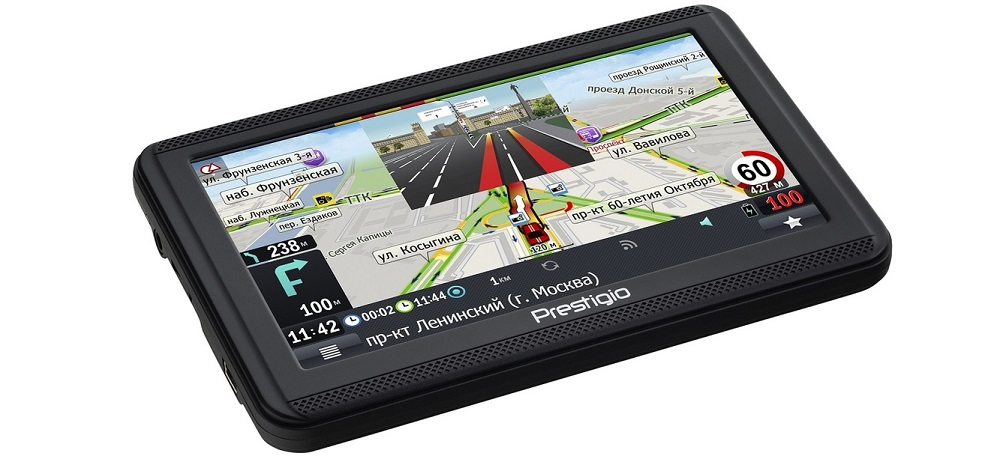 Навигатор с услугой «пробки» PRESTIGIO GeoVision 5060 Progorod