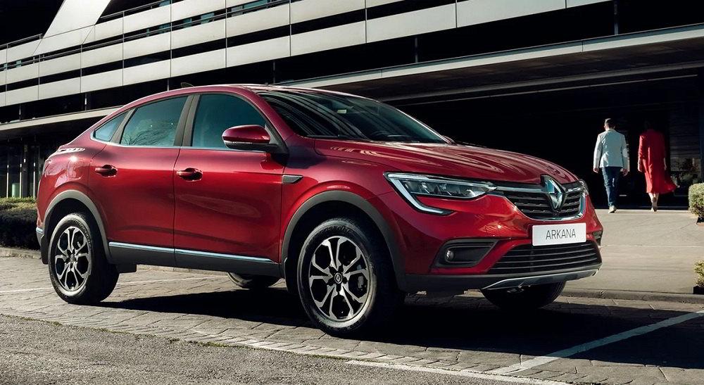Автомобиль до 1500000 рублей Renault Arkana