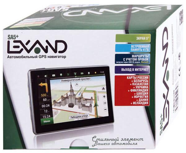 LEXAND SA5 навигатор
