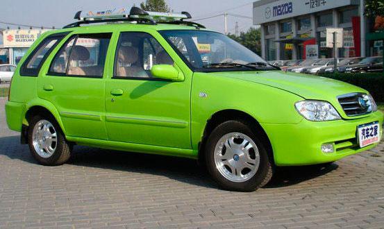 Китайская машина Geely HQ SRV