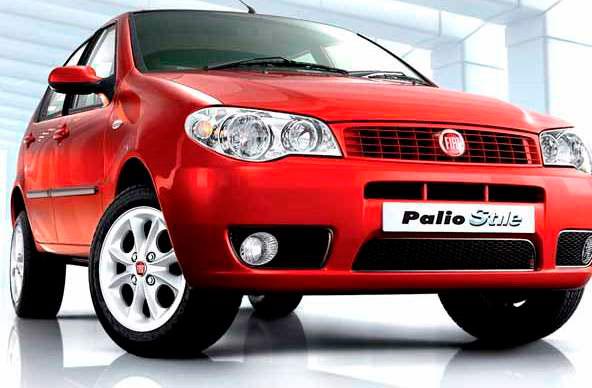 «Рабочая лошадка» Fiat Palio