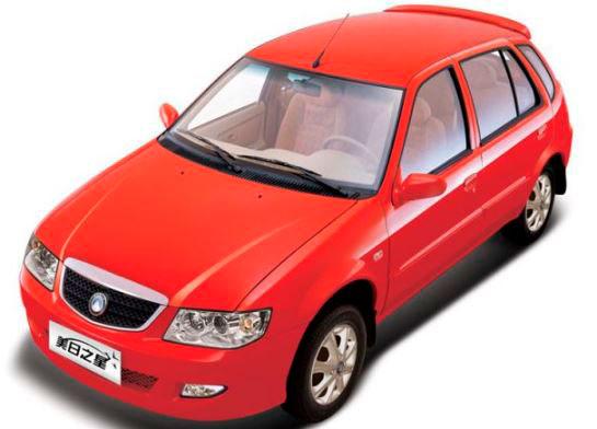 Комфортный автомобиль Geely MR