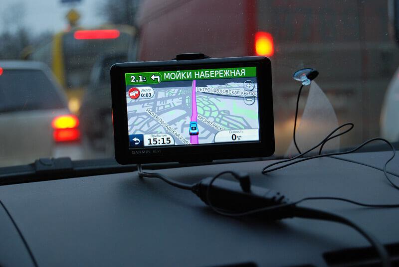 Навигатор установленный в авто