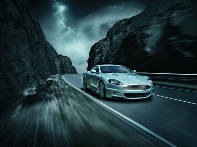 Aston Martin DBS - автомобиль Джеймса Бонда